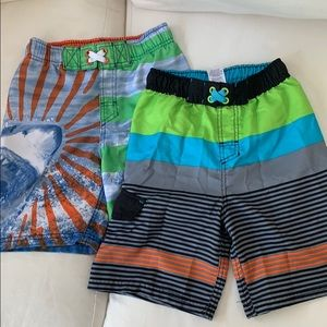 2- Boys Bathing Suits